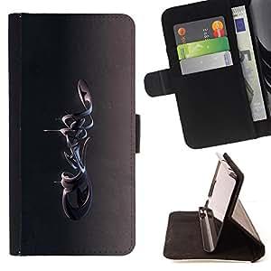 BullDog Case - FOR/Samsung Galaxy S6 / - / Abstract 3D /- Monedero de cuero de la PU Llevar cubierta de la caja con el ID Credit Card Slots Flip funda de cuer