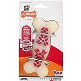 Nylabone Dura Chew Wolf Bacon Flavored Bone Dog Chew Toy