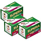 Fuji Superia 200 Film (à 36 Bilder, 3er Pack)