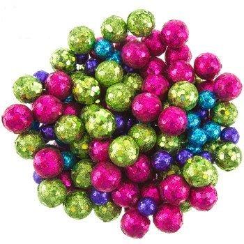 Glitter Balls Christmas Tree Party Supplies