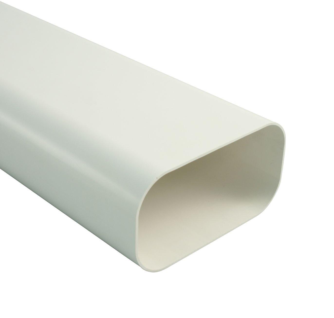 150 x 80 mm wei/ß Marley Flachkanal 1000 mm lang 060217