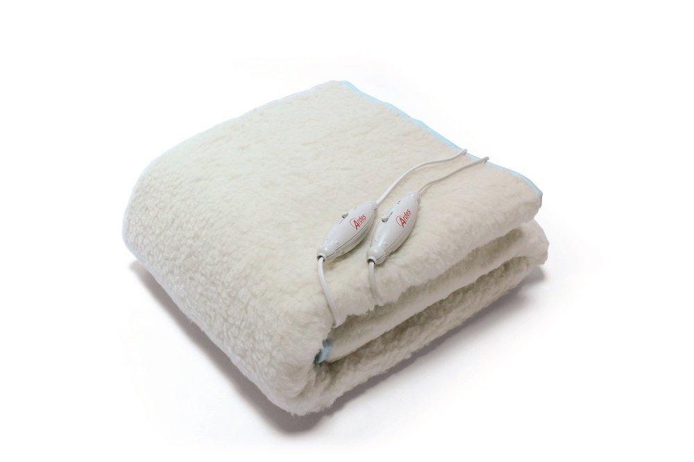 Ardes ARD.422 - Manta eléctrica para cama de matrimonio (60 + 60 W, 100% lana): Amazon.es: Salud y cuidado personal