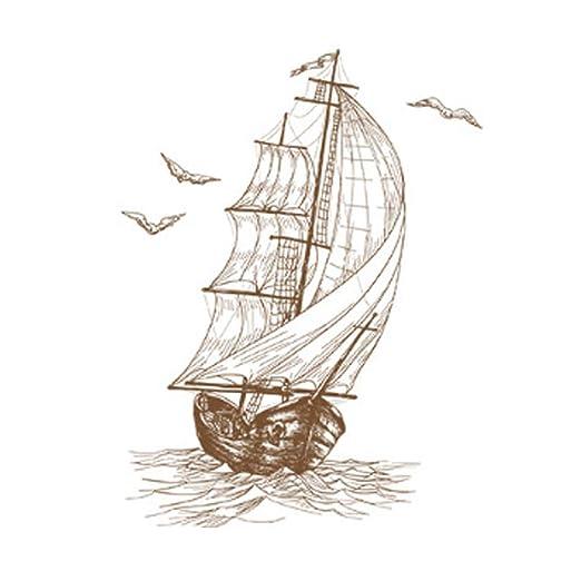 kocykoi Etiqueta Creativa del diseño del Barco de Vela Boceto ...