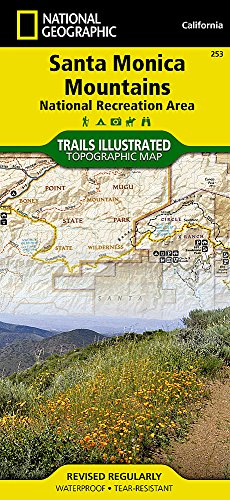 Santa Monica Mountains National Recreation Area (National Geographic Trails Illustrated Map)