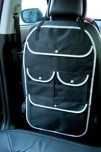 Rü ckenlehnentasche Business Comfort schwarz ohne Aufdruck Material Polyester auch fü r elektrische Sitze geeignet Vertrieb durch Preiswert & Gut Marke R&M Style