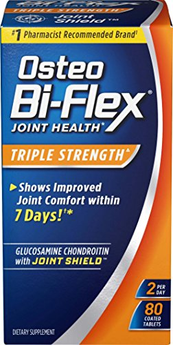 Osteo Bi-Flex Advanced Triple Strength Coated Tablets 80 ea Osteo Bi Flex Caplet Vitamins