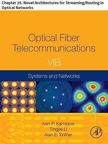 Optical Fiber Telecommunications VIB: Chapter 19. Novel Architectures for Streaming/Routing in Optical Networks (Optics and ()