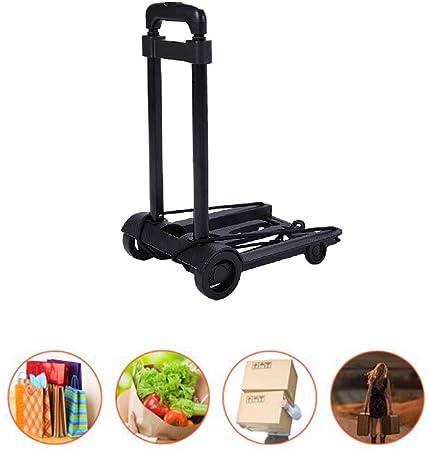 Heavy Duty Portable Folding Trolley Cart Hand Truck Luggage Household 4 Wheel UK
