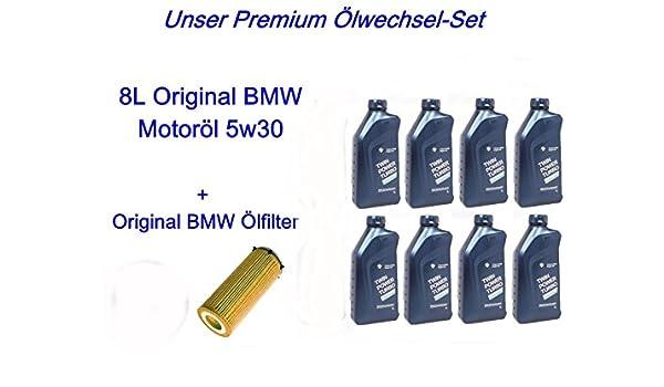8L Original BMW antifricción 5 W30 E46 E90 E92 E60 e61e61 E83 E70 E71 X3 X5 X6: Amazon.es: Coche y moto