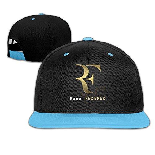 OHYEYE Kids Roger Federer Gold Logo Adjustable Snapback Caps Hip-hop  Baseball Hat For Kids - Buy Online in Oman.  a56f4b0f961
