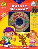 Does It Belong?, School Zone Publishing Interactive Staff, 0887439276