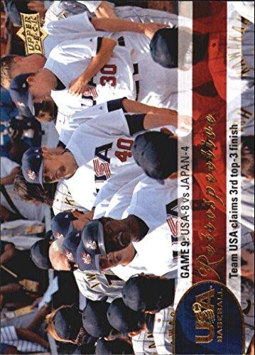 (2009 Upper Deck USA National Team Retrospective #USA14 Team USA Wins Third Olympic)