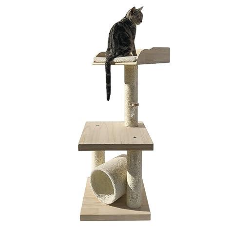 Árbol del Gato Escalada doméstico del Gato del árbol del Gato de ...