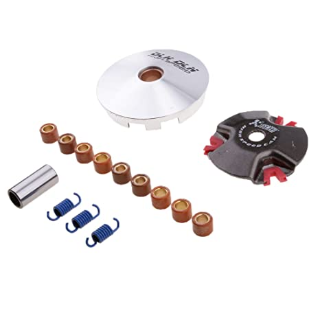 Amazon.com: MonkeyJack Performance Racing Front Clutch Variator for 50 2 Storke Jog 1E40QMB Scooter: Automotive
