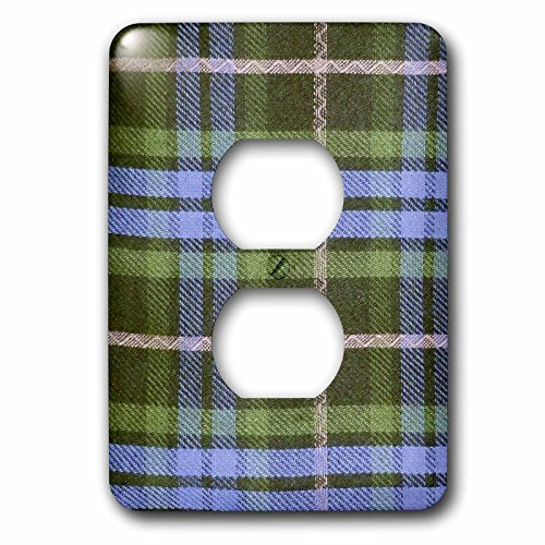lsp_113035_6 Blue and Green Tartan Pattern with Black and...