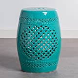 Tokai Ceramic Stool - Aqua