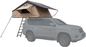 Hasika vehículo azotea Tienda SUV Coche Plegable Tienda de campaña Tienda de campaña para Techo de Coche 10 pies x 4.5 ft: Amazon.es: Deportes y aire libre