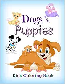 Dogs Puppies Coloring Little Friends All product image