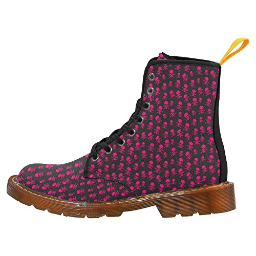 InterestPrint Womens Boots Unique Designed Comfort Lace Up Boots Multi 6 ayAWqzgsUE