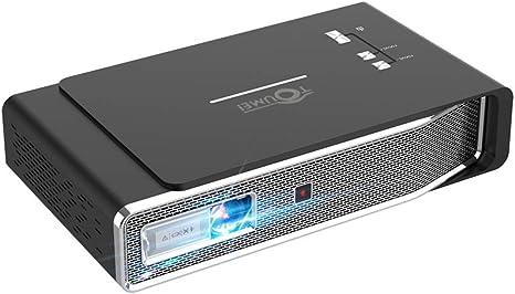 TOUMEI V5 Mini Proyector Portatil 3800 Lumens - Android ...