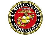 marine corps auto decal - USMC Sticker United States Marine Corps US EGA Military Car Auto Decal Bumper Window Sticker (3