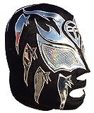 Deportes Martinez Sombra Professional Lucha Libre Mask Adult Luchador Mask Black