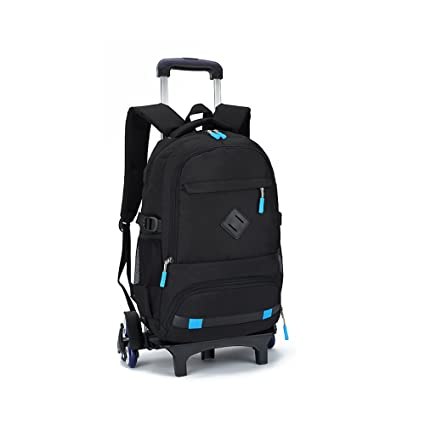346481593b TiTa-Dong Rolling Backpack Luggage 18 Inch Wheeled Backpack Travel Laptop  Laptop Six Wheels Unisex
