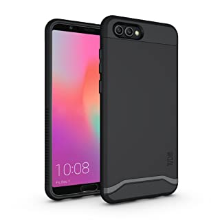 Honor View 10 / Honor V10 Case, TUDIA Slim-Fit Heavy Duty [Merge] Extreme Protection/Rugged but Slim Dual Layer Case for Huawei Honor View 10 / Honor V10 (Matte Black)