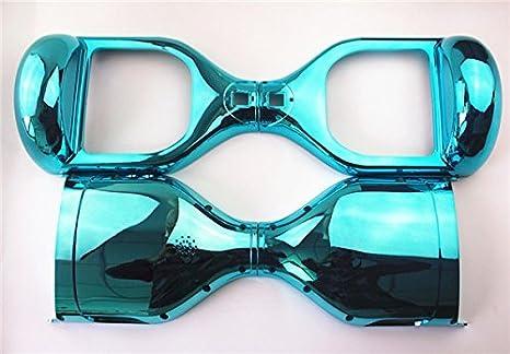 Blue Cromo Cubierta Exterior Para Cubrir el Caso de 6,5 Pulgadas Smart Self Balance Wheel Scooter Electrico Patinetes