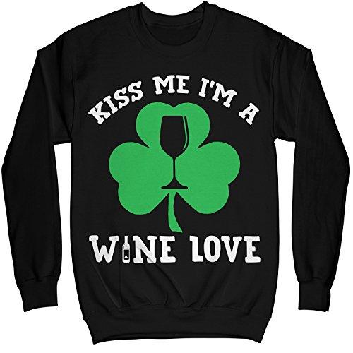 I/'m A Drinker Printed Sweater Patricks Paddys Day Funny Irish Top Men Girl