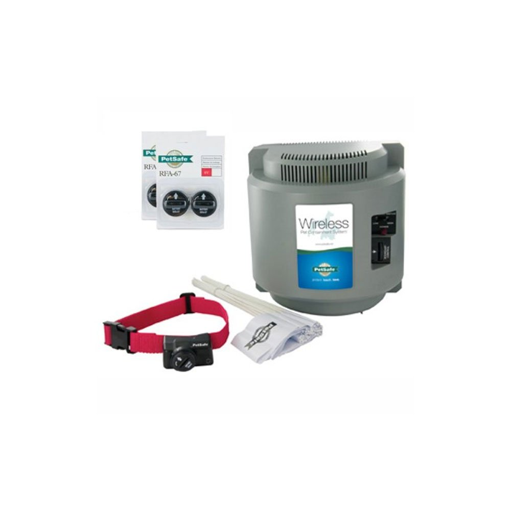 PetSafe Wireless Fence (PIF-300) with 2 Extra Battery Packs