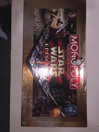 Monopoly Star Wars Episode I Board Game Made by Hasbro ()