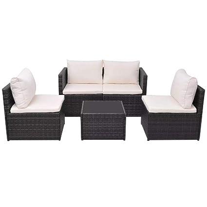 Amazon.com : Daonanba Outdoor Sofa Sets Garden Furniture ...