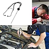 Car Cylinder Stethoscope, Mechanics Stethoscope Car Engine Block Diagnostic Automotive Hearing Tools