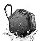 Cipo Waterproof Bluetooth Speaker, Mini Water Resistant Wireless Portable Shower 4.1 Speakers with Built-in Mic, TF Card Slot, Superior Stereo Bass Sound for Outdoor/home/Car, Handsfree Calling for iPhone/Samsung Android Phone
