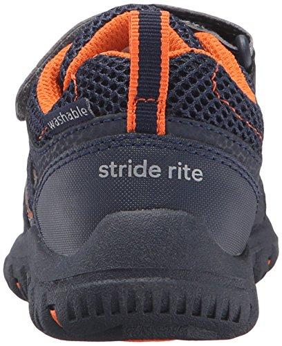 Stride Rite Made 2 Play Artin Running Shoe (Little Kid), Navy, 11 M US Little Kid - Image 2