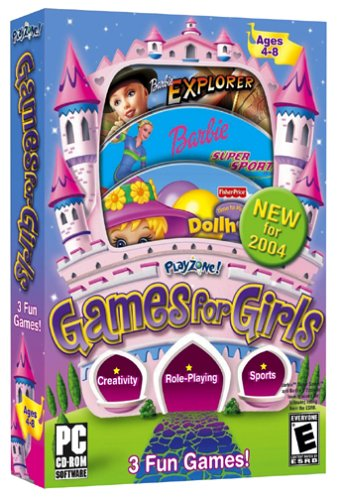Playzone! 2004 Games for Girls - PC