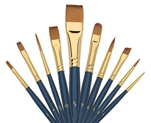 What Are The Best Acrylic Paint Brushes To Buy