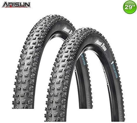 Arisun 2X Neumático de la Bicicleta Rueda Plegable Mount Bona ...