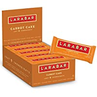 16-Pack Larabar Gluten Free Bar Carrot Cake 1.6 oz Bars