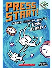 Super Rabbit Boy's Time Jump!: A Branches Book (Press Start! #9) (9)