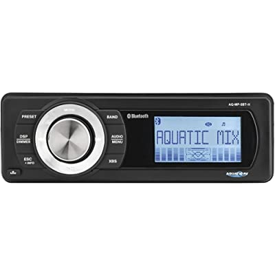 Aquatic AV AQ-MP-5BT-H Factory Harley Davidson Replacement AM/FM Radio with Bluetooth & MP3 Media Player Stereo (Renewed): Car Electronics