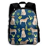 The Children's Yellow Lab Labrador Retriever Labrador Retriever Cactus Backpack