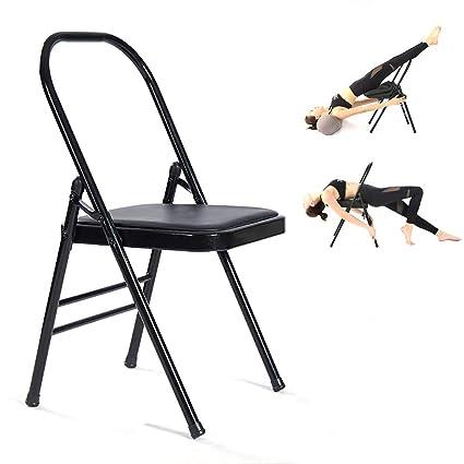 HECHEN Silla Alta para Yoga, Silla Plegable de Confort de ...