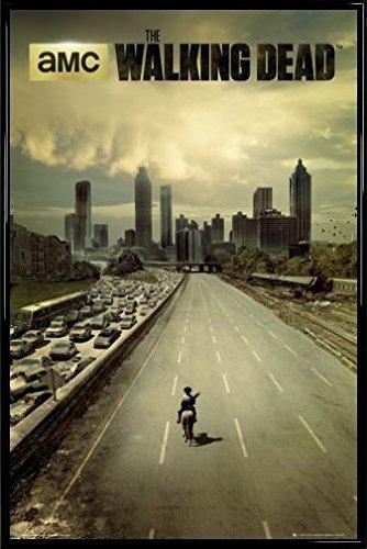 ポスター: The Walking Deadポスター – Rick Grimes Riding Into Atlanta ( 36 x 24インチ) 24x 36Inch 68642R001 B00FBUOV36 フレームプラスチック、ブラック フレームプラスチック、ブラック