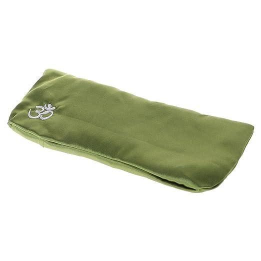 sitonelectic Yoga Eye Pillow – Máscara de Masaje de Seda Cassia Semillas Lavanda Masaje Relajación Aromaterapia, 3