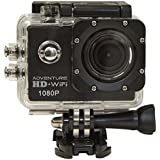 Cobra Electronics Adventure HD 5210 Wi-Fi Sports & Action Video Camera, Black