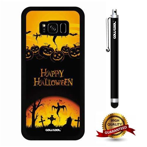 Galaxy S8 Plus Case, Halloween Case, Cowcool Ultra Thin Soft Silicone Case for Samsung Galaxy S8 Plus - Halloween -