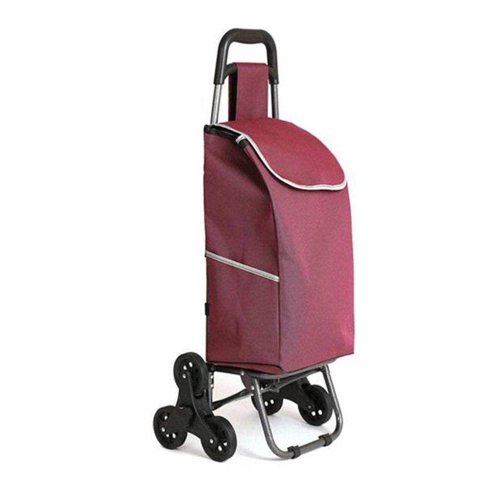 NAN 三輪車折りたたみカート、トロリー階段クライミング車ワゴン洗濯車輪付きベアリング、階段の上下93 * 34 * 18cm トレーラー (色 : パープル ぱ゜ぷる) B07DYSNFVD  パープル ぱ゜ぷる