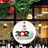 OLOPE Christmas Ornaments 2020 Quarantine Survivor